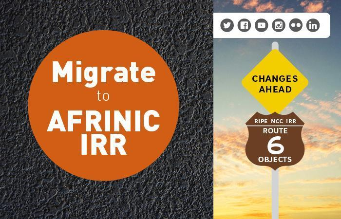 Migrate to AFRINIC IRR
